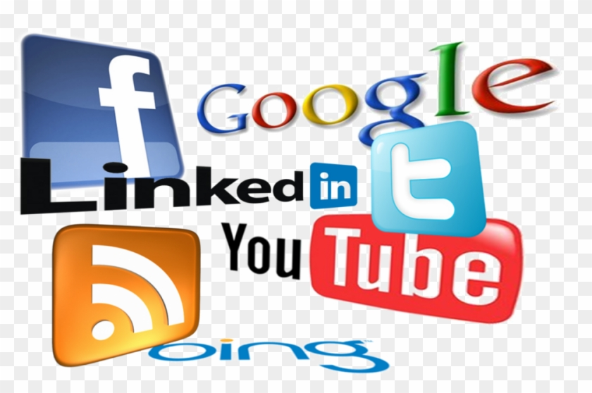 Social Media Marketing - Social Networking Logos Png #921820