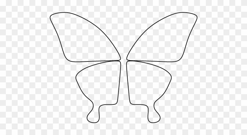 It's just an image of Butterfly Cut Out Printable with realistic