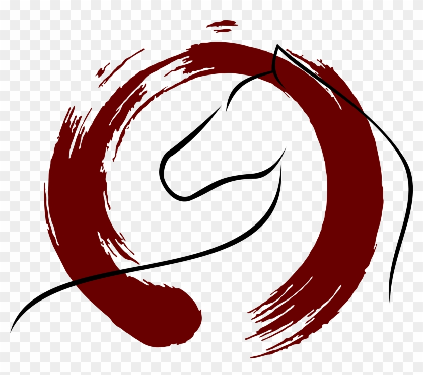 Zen Ensu014d Circle Illustration - Circle Paint Brush Stroke #922979