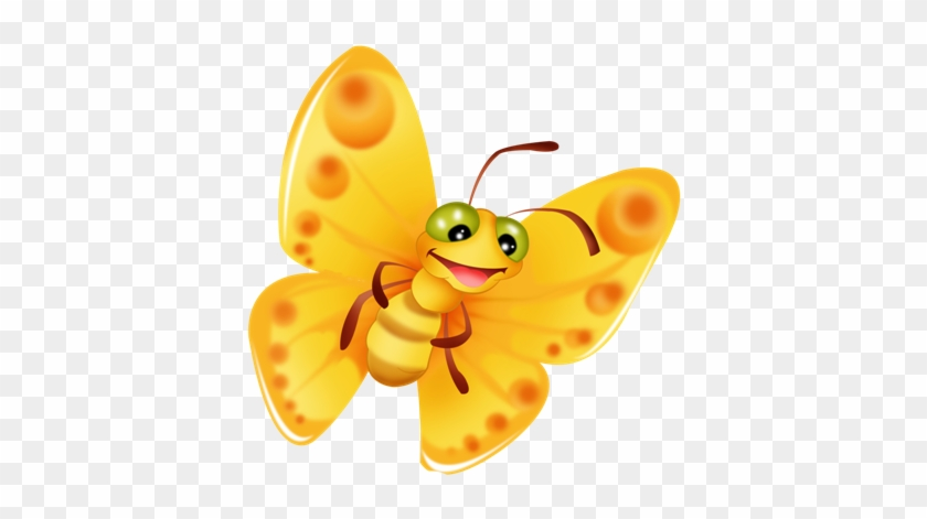 Butterfly Clipart Papillon Jaune Free Transparent Png Clipart Images Download