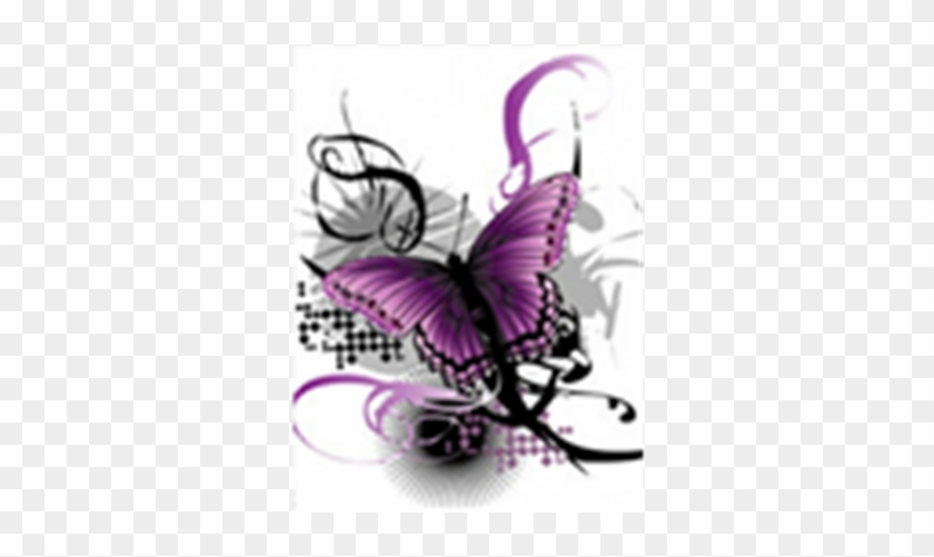 Samsung S3310 Pink Butterfly Mobile Wallpaper Purple And Black