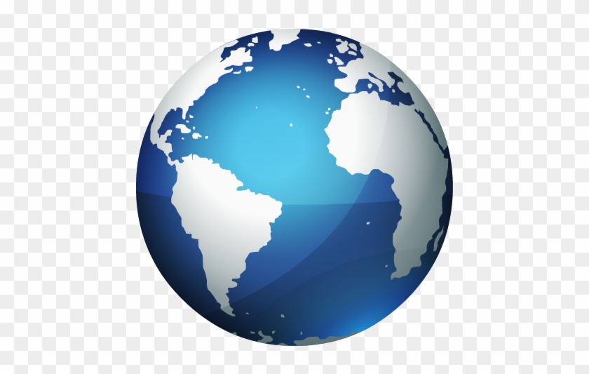 Icon Pictures Planet Image - Earth Globe Png #927041