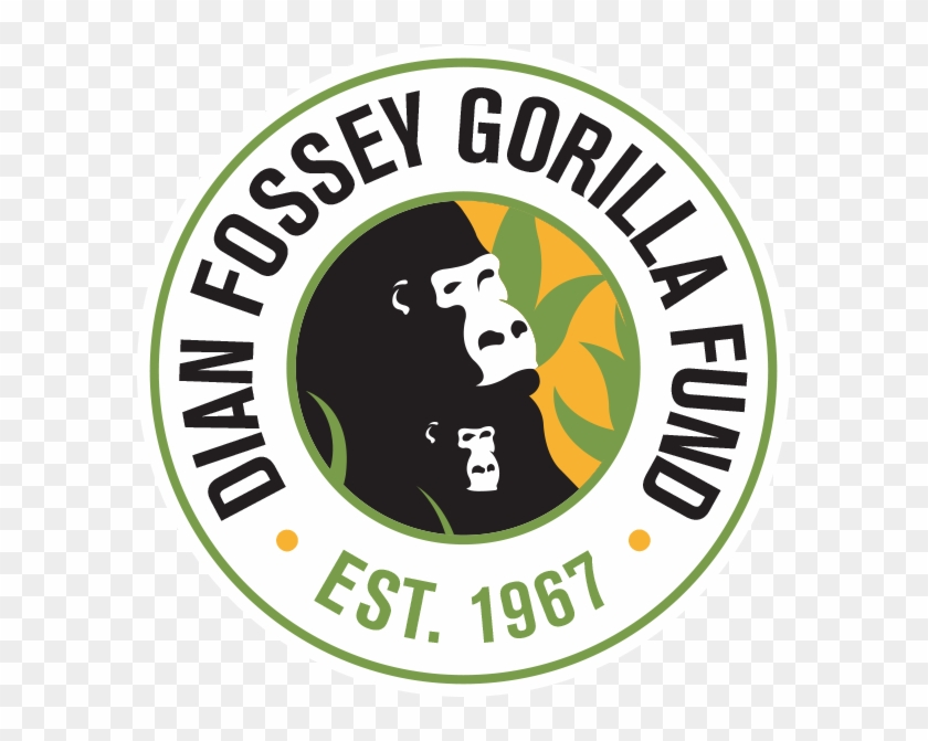 Circle Logo With Lines Color Png - Dian Fossey Gorilla Fund