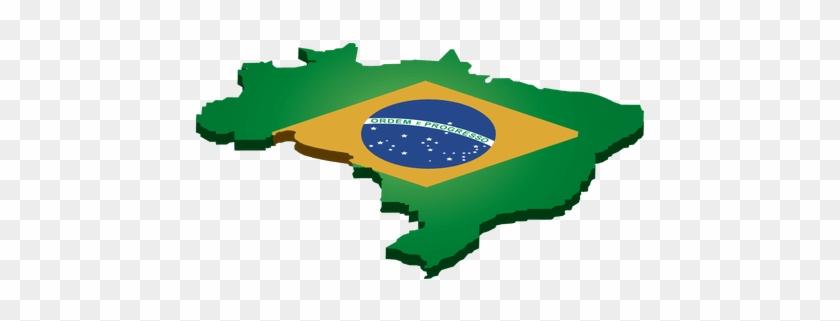 Brazil Landmark Flag Transparent Png - Brasil Bandera #928409