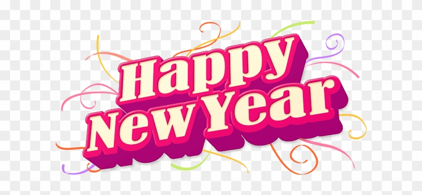 Happy New Year 2018 Clipart, Download Free New Year - Happy New Year Png Text #929291