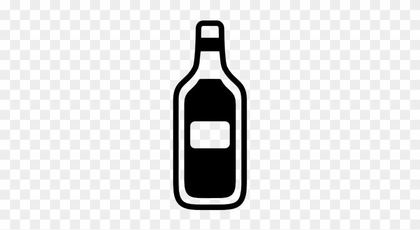 Wine Icon - Glass Bottle #929844
