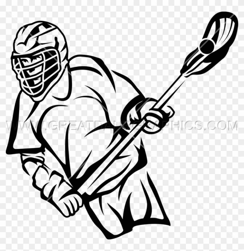 Lacrosse Player Drawing At Getdrawings Com Free For - Lacrosse Drawing Easy #931039