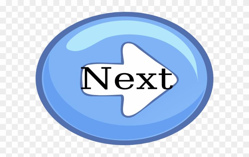 Next Button Svg Clip Arts 600 X 452 Px - Next Button #931774