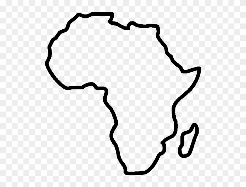 Blank Map Of Africa Africa Blank Map Clip Art   Ivory Coast Africa Map   Free  Blank Map Of Africa