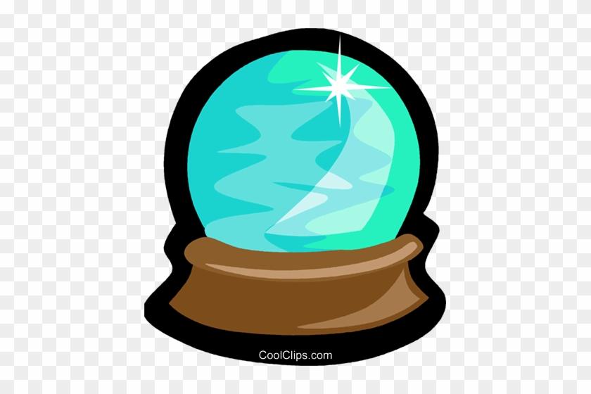 Crystal Ball Royalty Free Vector Clip Art Illustration - Crystal Ball Clip Art #932760