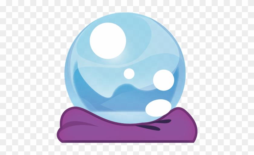 Crystal Ball Emoji - Crystal Ball #932816