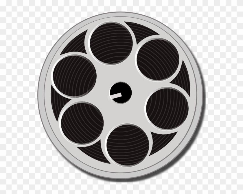 Film Reel Clipart Voen1f Clipart - Film Reel Clipart #933432