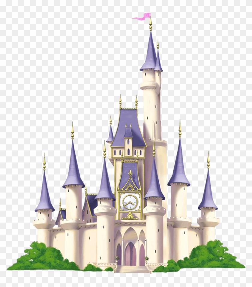Free Clipart Buildings Clipart Castle Image - Cinderella Castle Clipart #933534
