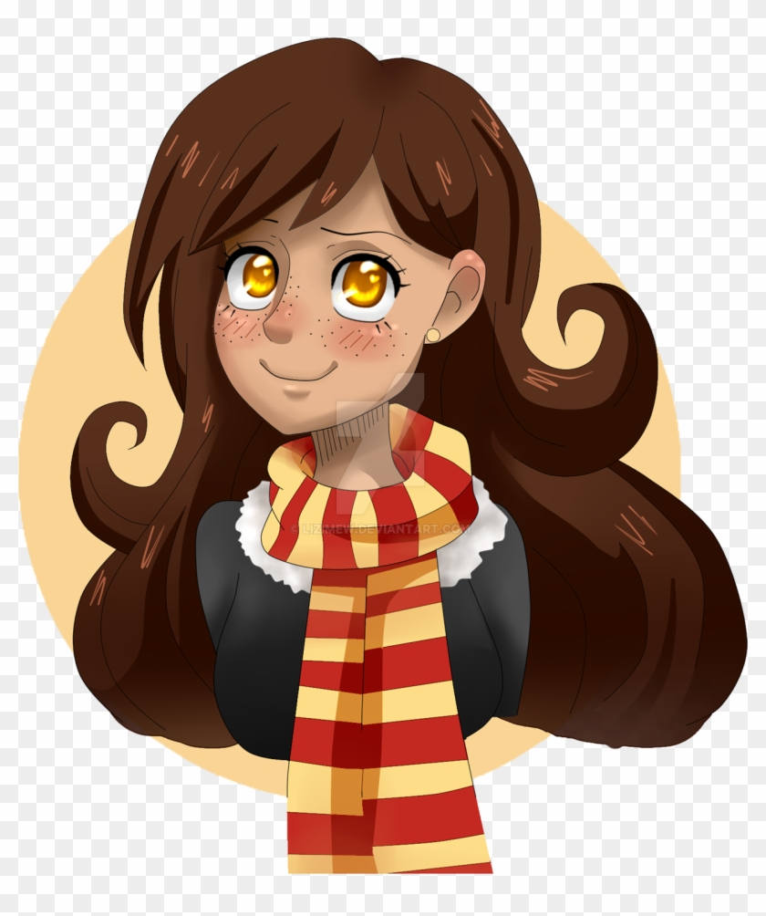 Drawing Liz Fanart Harry Potter Gryffindor By Lxzerella