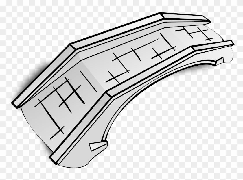 Rpg Map Symbols - Bridge Clip Art - Free Transparent PNG Clipart