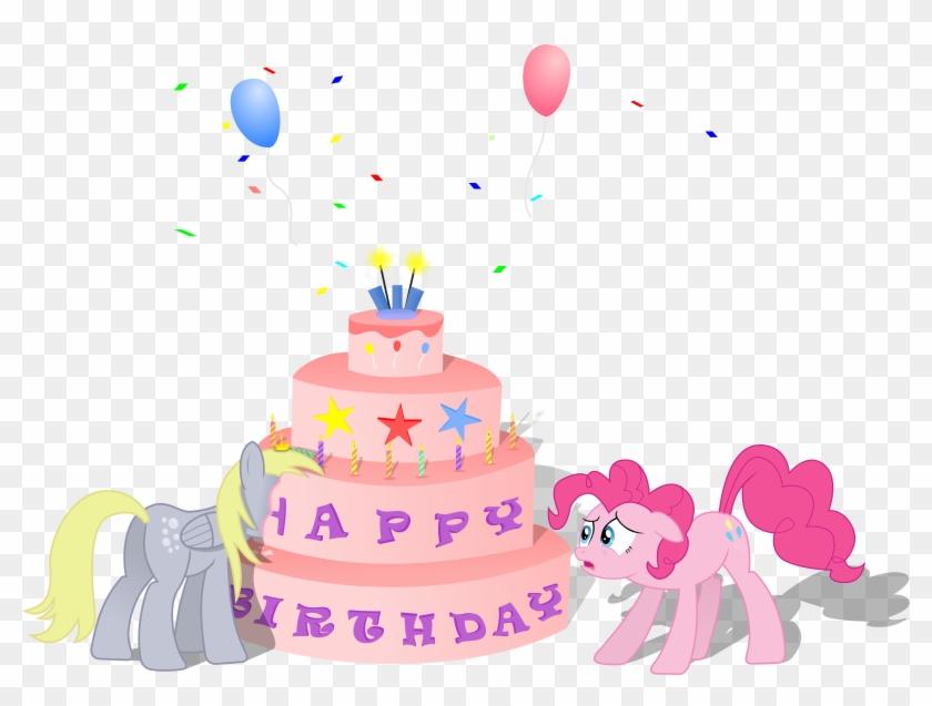 Phenomenal My Little Pony Clipart Birthday Cake My Little Pony Happy Funny Birthday Cards Online Alyptdamsfinfo