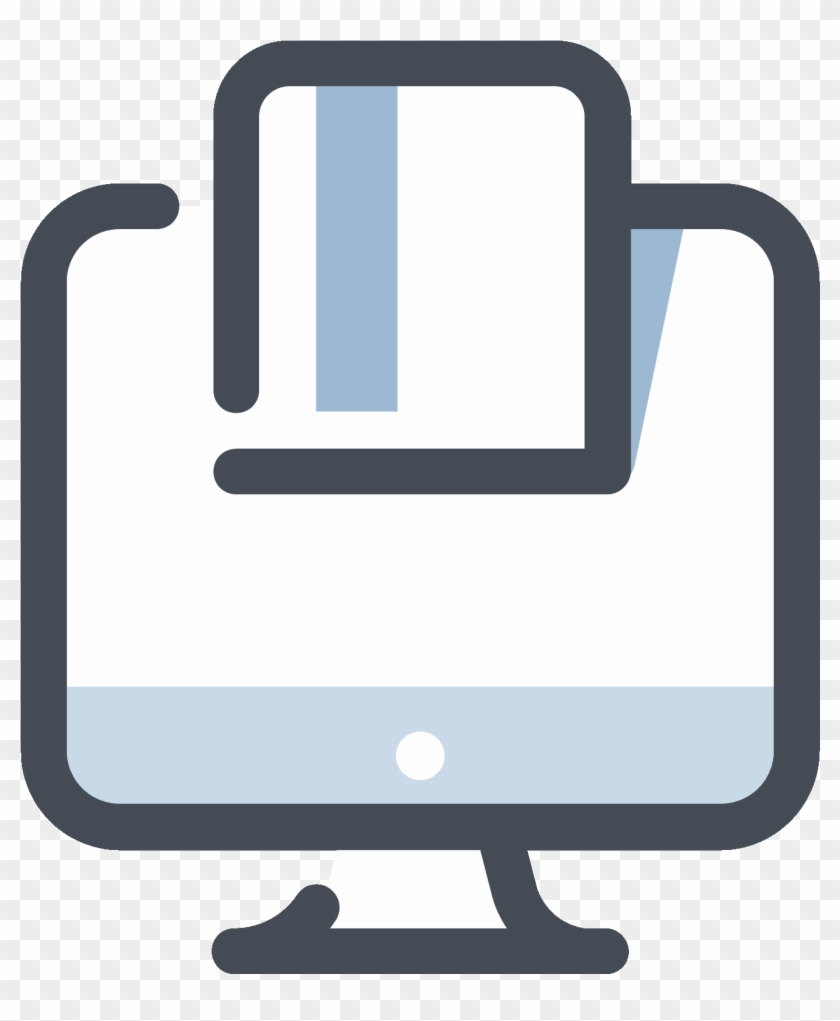 Online Payment With A Credit Card Icon - Online Shop Icon Png #934125