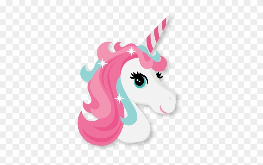 Unicorn Head Cute Unicorn Svg Cut File Scrapbook Cut - Unicorn Head Clipart Free #934143