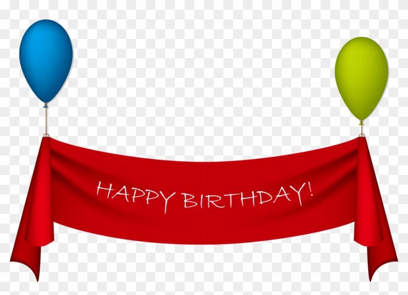 Birthday Ribbon Greeting Card Clip Art Happy Birthday Banner Png