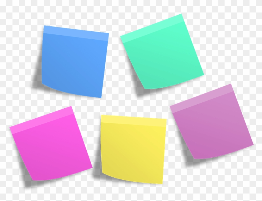 Post It Memos Notes Info Sticky Note List - Post It Notes Png #934266