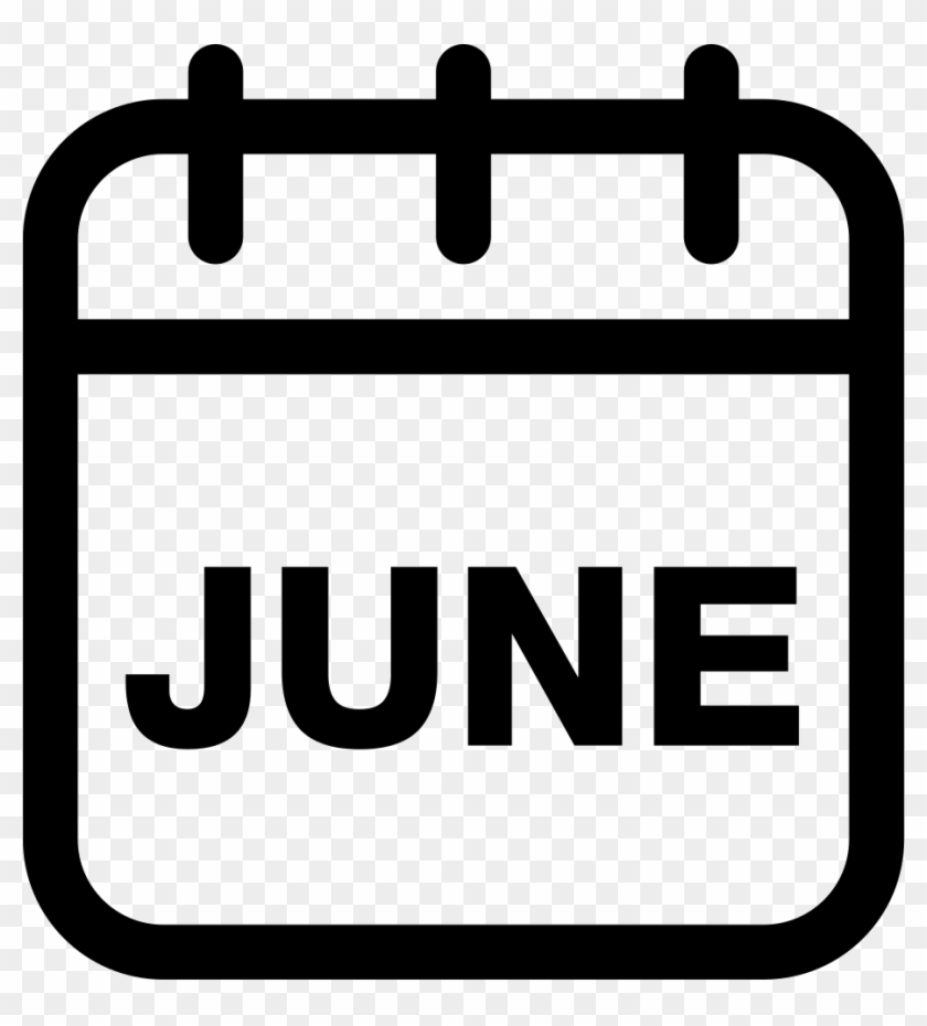 June Calendar Monthly Page Comments - Calendar Month Icons Free ...