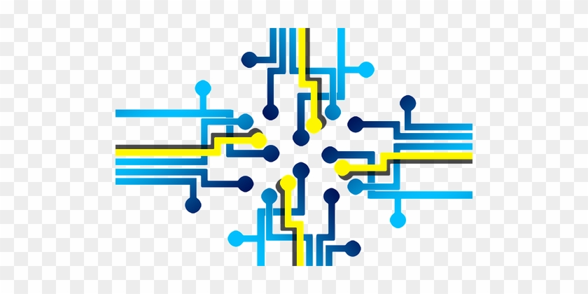 Board, Circuits, Trace, Control Center - Transparent Circuit