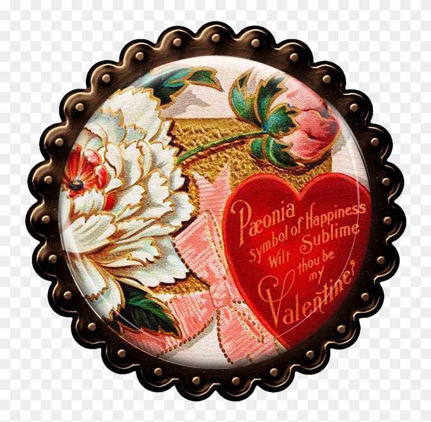 Love Themed Journal And Pocket Cards Vintage Valentine S Victorian