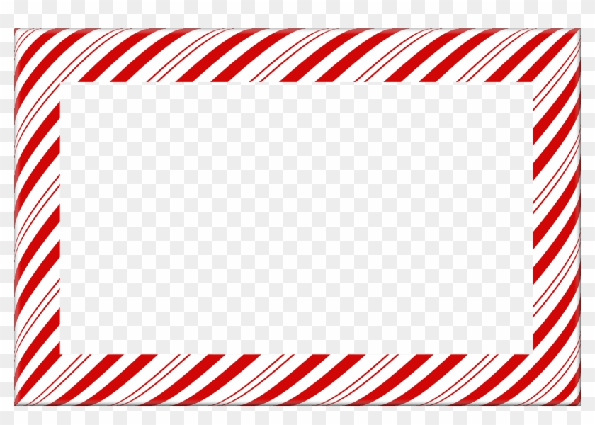 Candy Cane Christmas Borders And Frames - Candy Cane Stripe Border ...