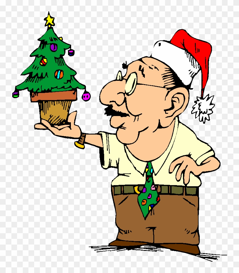 Party Clipart Funny - Christmas Office Clip Art - Free Transparent ...