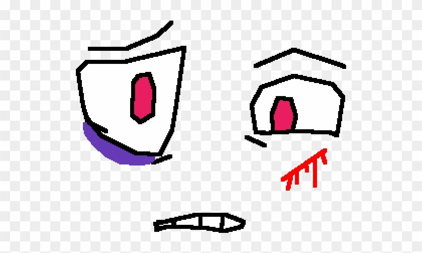 Pixilart Roblox Face Roblox The Forgotten Face Free