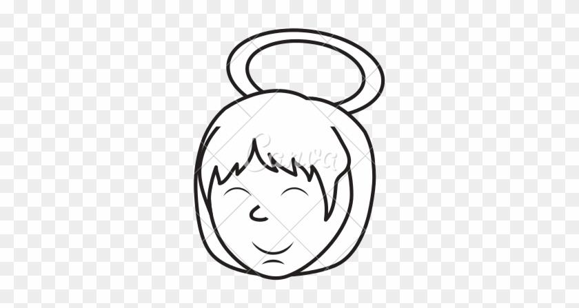 Cute Angel Cartoon - Vector Graphics #936891