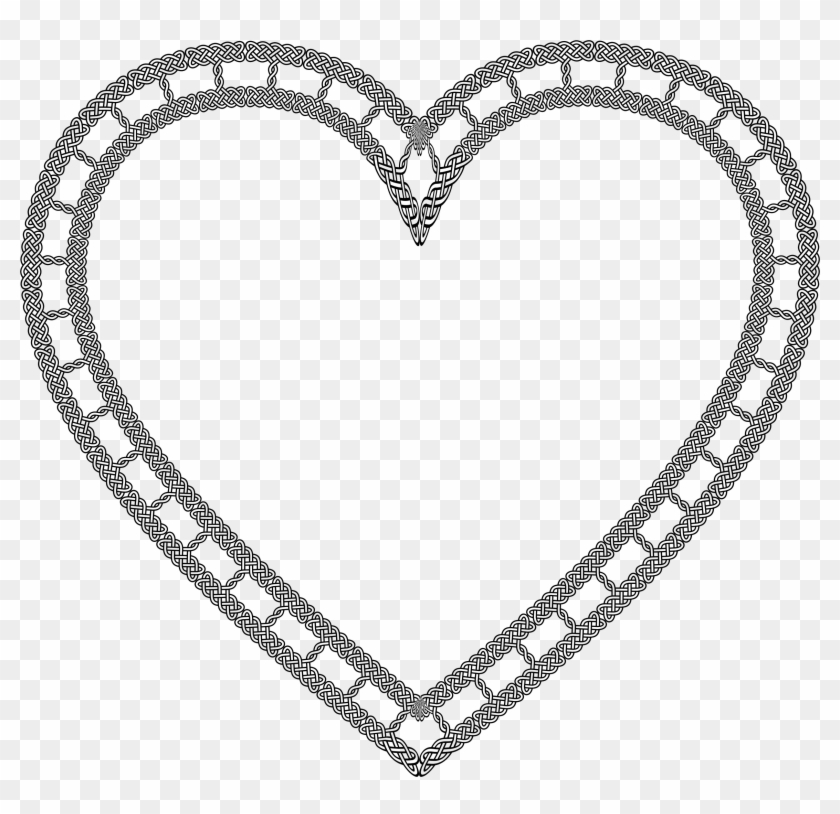 Celtic Knot Heart King And Queen Of Hearts Wedding Clipart Free