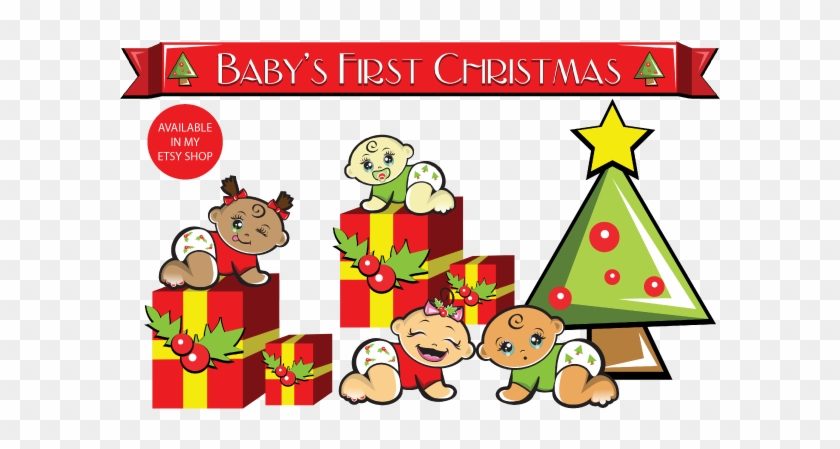 Christmas - My First Christmas Clip Art #937532