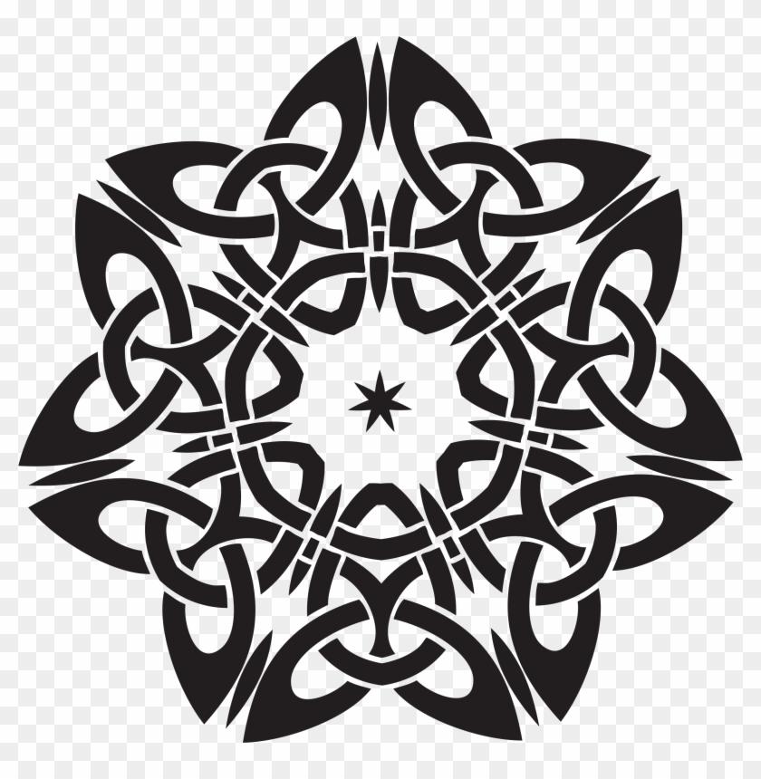 Celtic Knot Design 2 Celtic Designs Black And White Free Transparent Png Clipart Images Download