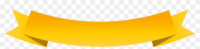 Yellow Bow Ribbon Clip Art At Clker - Ribbon Flag Yellow Png #937785