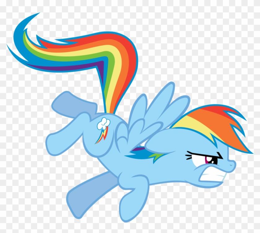 Mlp Angry Rainbow Dash #939062