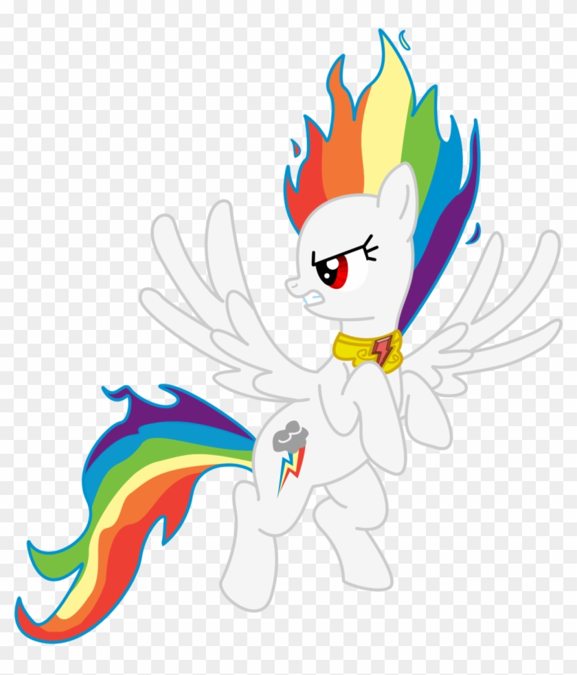 Free My Little Pony Coloring Pages Rainbow Dash Flying My Little