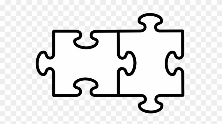 puzzle piece puzzle clip art 2 puzzle pieces template free