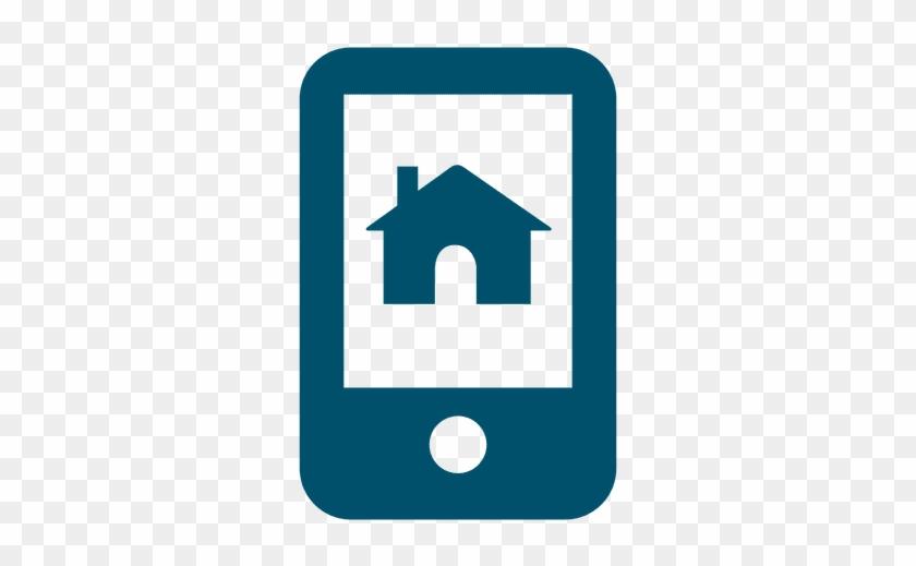 Home Phone Real Estate Icon Logo Casa Con Dinero Bienes Raices