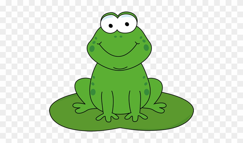 Related Free Clipart Of Frogs - Frog On Lily Pad Clipart #940019