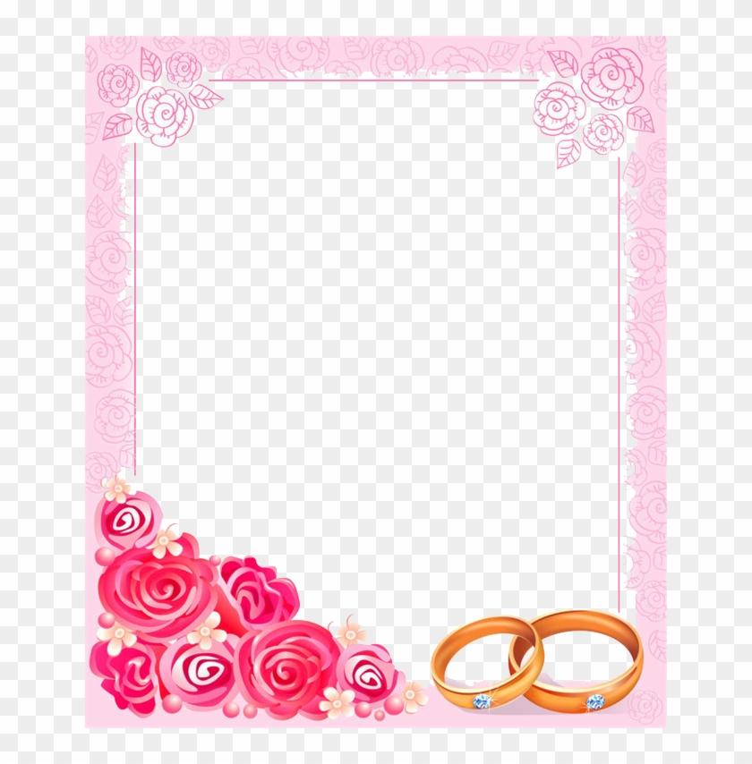 Wedding Invitation Borders Clip Art: Wedding Frames And Borders Png