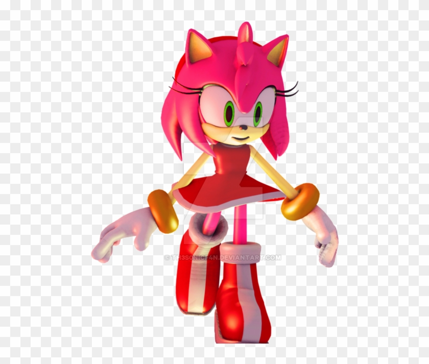 Amy Rose Render By Th3s0nicf4n - Gmod Amy Rose Playermodel