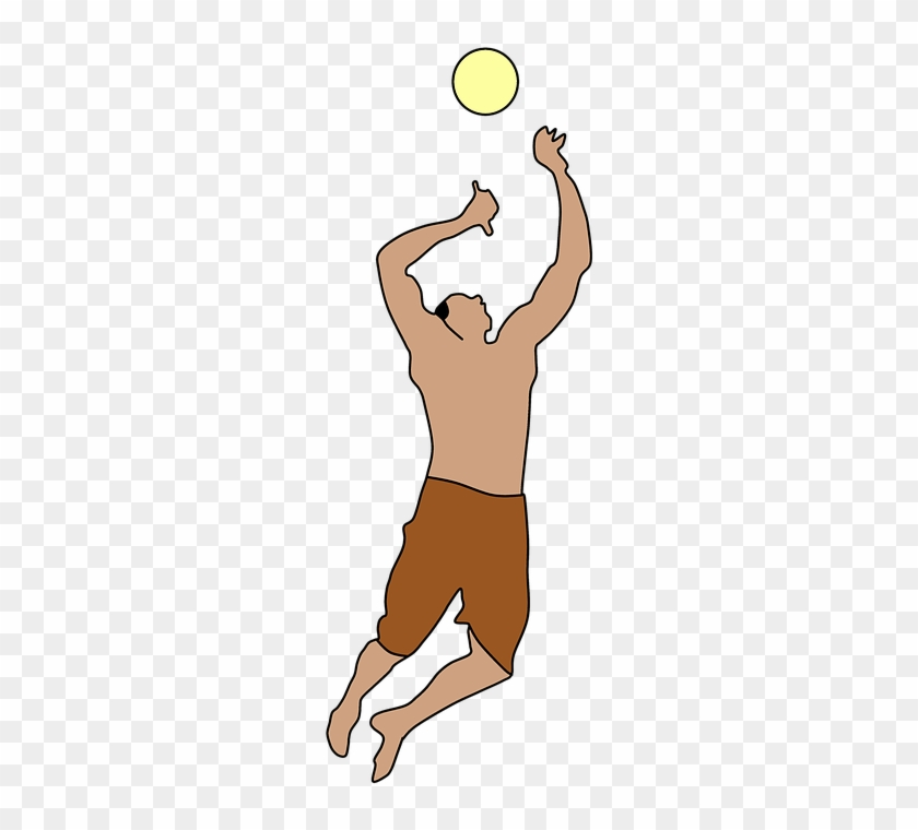 Dodgeball Clipart Play Ball Personas Jugando Voleibol Png Free