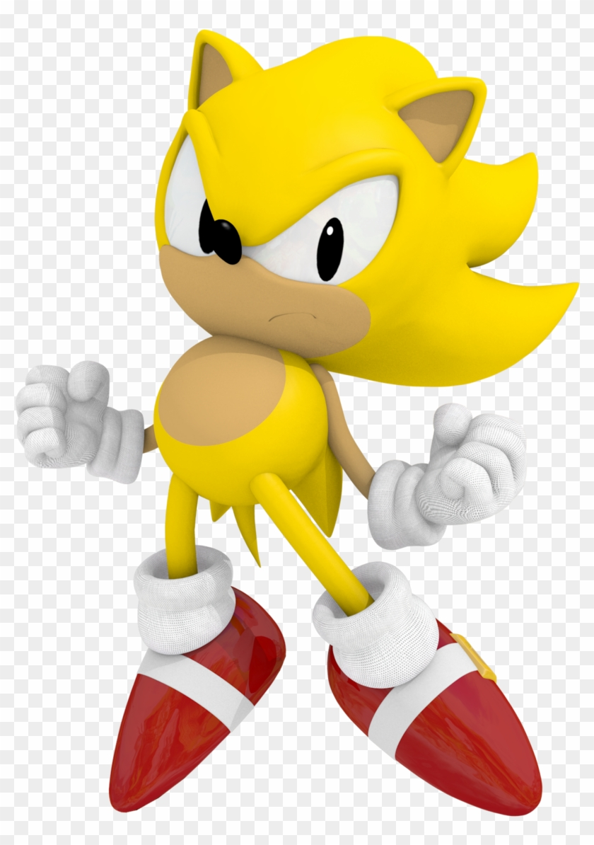 Classic Super Sonic The Hedgehog Classic Sonic Can T Talk Free