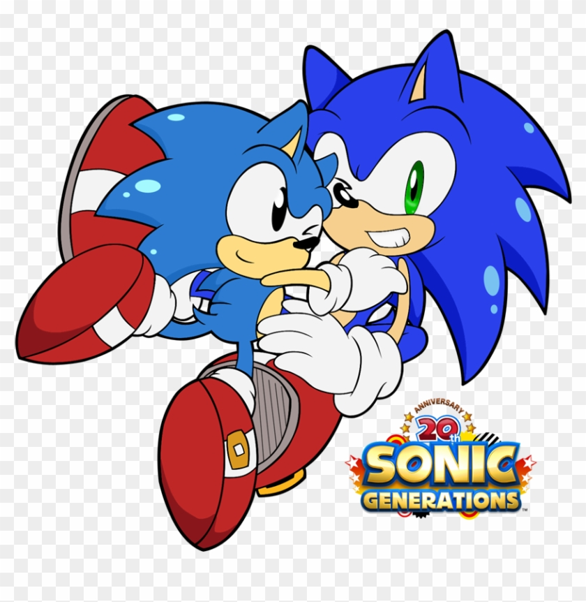 Sonic Generations Classic Sonic - Cute Classic Sonic The Hedgehog - Free  Transparent PNG Clipart Images Download