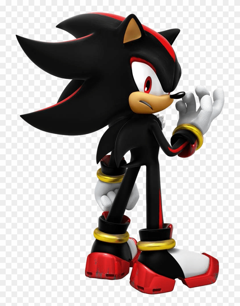 Sonic The Hedgehog Shadow Free Transparent Png Clipart Images Download