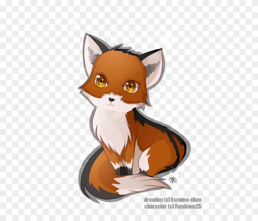Anime Kawaii Baby Fox