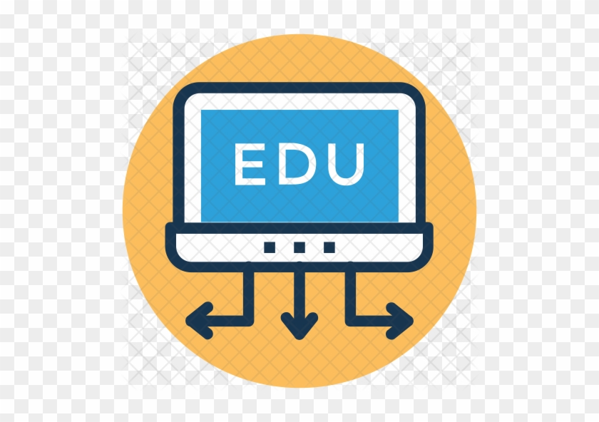 Online Education Icon E Learning Free Transparent Png Clipart Images Download