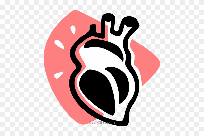 Human Heart Royalty Free Vector Clip Art Illustration Human Heart Clipart Free Transparent Png Clipart Images Download