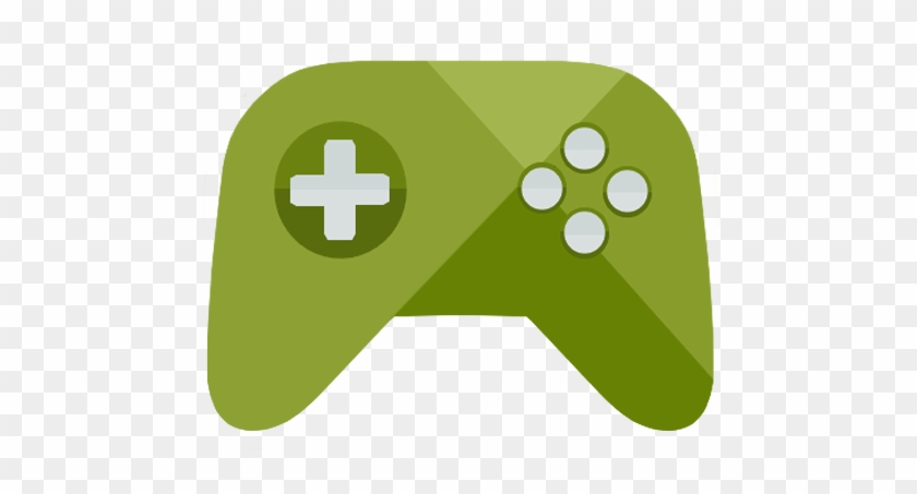 Play Games Icon Android Kitkat Png Image Green Video Game Icon Transparent Background Free Transparent Png Clipart Images Download